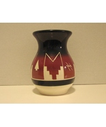 Sioux Indian Fat Belly Pottery Vase Signed - $17.39