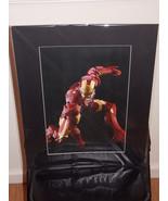 Marvel Iron Man Matted Print 16 X 20 New - $24.99