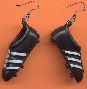 Soccer 20track 20shoe 20earrings