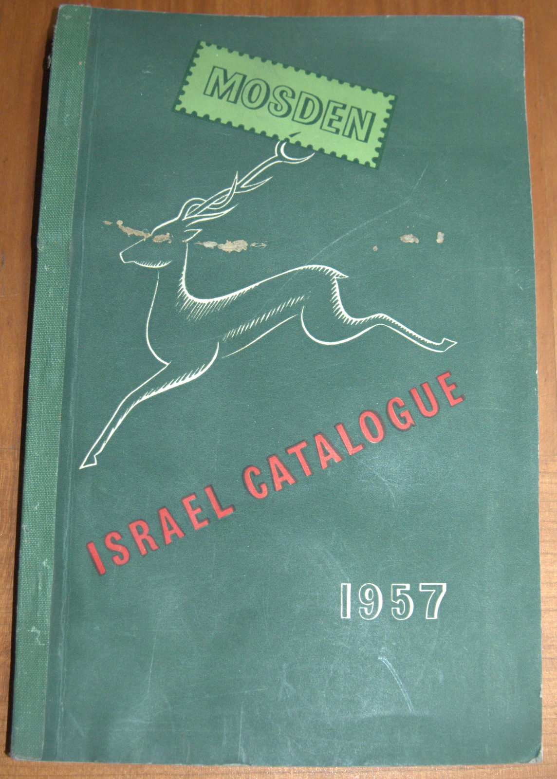 Mosden Israel Philately Catalogue 1957 Stamps Postmarks Covers Illustrated Book