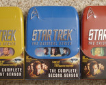 Star Trek: The Original Series - Three Season Pack (DVD, 2004, 22-Disc Set)