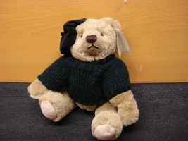 Gund Teddy Bear Bialosky Artist 1982, vintage Collectible Teddy Bear - $39.99