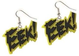 EEK EARRINGS-Punk Scream Sci-Fi Horror Movie Charm Funky Jewelry - $4.97