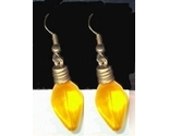 Xmas 20light 20bulb 20earrings yellow thumb155 crop