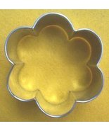 Flower cookie cutter - $5.00
