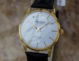 Citizen Master 1960s Manual Gold Plated Made in Japan Men's Vintage Watc... - $665.42