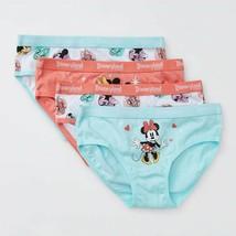 Disney Disneyland 4 x Girls briefs undies NEW Various sizes Mickey Minnie Mouse - $15.63