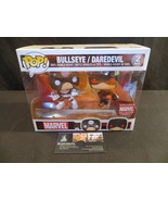 Marvel Collector Corps exclusive 2 pack Bullseye/Daredevil vinyl bobble ... - $61.73