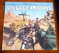 Vintage 1978 The Village People Cruisin' YMCA Vinyl LP Record Album VG o... - $4.00
