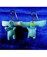 DUMBO EARRINGS-Disney Cartoon Baby Elephant Animal Funky Jewelry - $10.97
