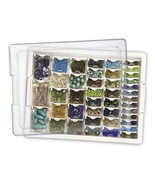 Assorted Bead Storage Tray 42 containers 13.75x... - $40.50