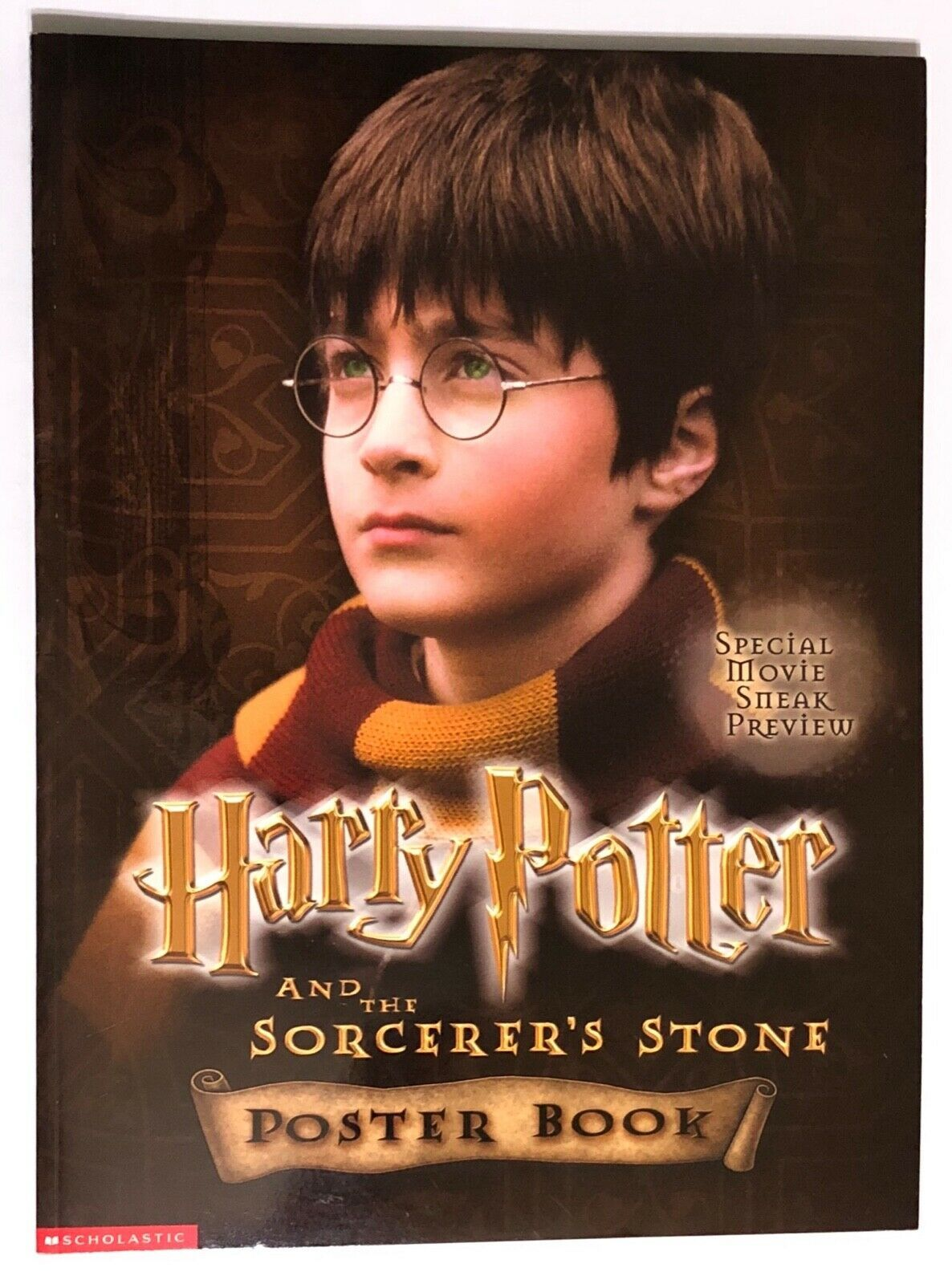 Primary image for Harry Potter and the Sorcerer's Stone Movie Poster Book 2001 Scholastic