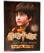Harry Potter and the Sorcerer's Stone Movie Poster Book 2001 Scholastic - $12.61