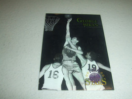 1996-97 TOPPS STARS CHROME #30 GEORGE MIKAN -Minneapolis Lakers-Hall Of ... - $3.19