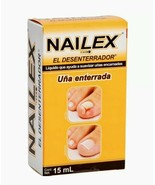 NAILEX DESENTERRADOR DE UÑAS ENTERRADA INGROWN TOE NAIL SOFTENER CONCENT... - $19.50