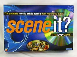 Scene It? Movie Edition 2003 DVD Trivia Board Game Mattel Complete EUC - $11.76