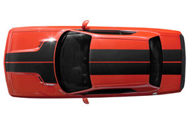 Dodge Challenger T Hood Stripes SRT8 Graphic Vinyl RT Decal Hemi Part 20... - $79.95