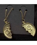COUPLE PENDANT NECKLACE SET-Vintage Fun Love Charm Funky Jewelry - $14.97