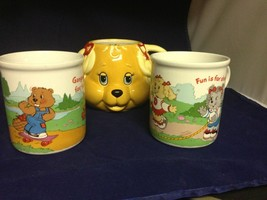 Lot Of 3 1980's AMERICAN GREETINGS  COLLECTION THE GET ALONG GANG MUG - $12.86