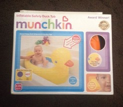 Munchkin Inflatable Safety Duck Tub 6 24 Months Nib   Fast Ship! - $29.69
