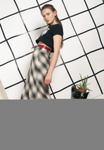 90s vintage grunge maxi skirt - $34.42