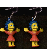 LISA EARRINGS-The Simpsons Cartoon Character Fu... - $6.97