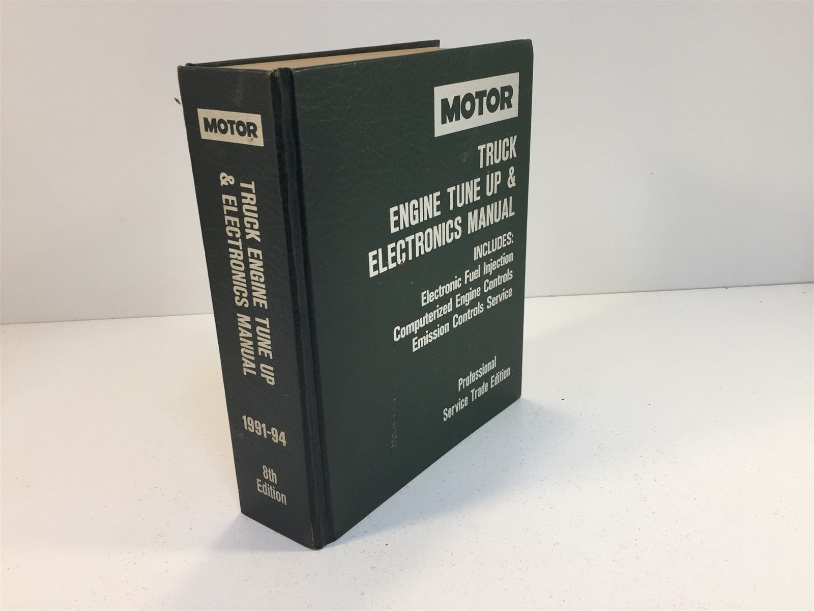 1991-94 Motor Truck Engine Tune Up & Electronics Manual 8th Edition