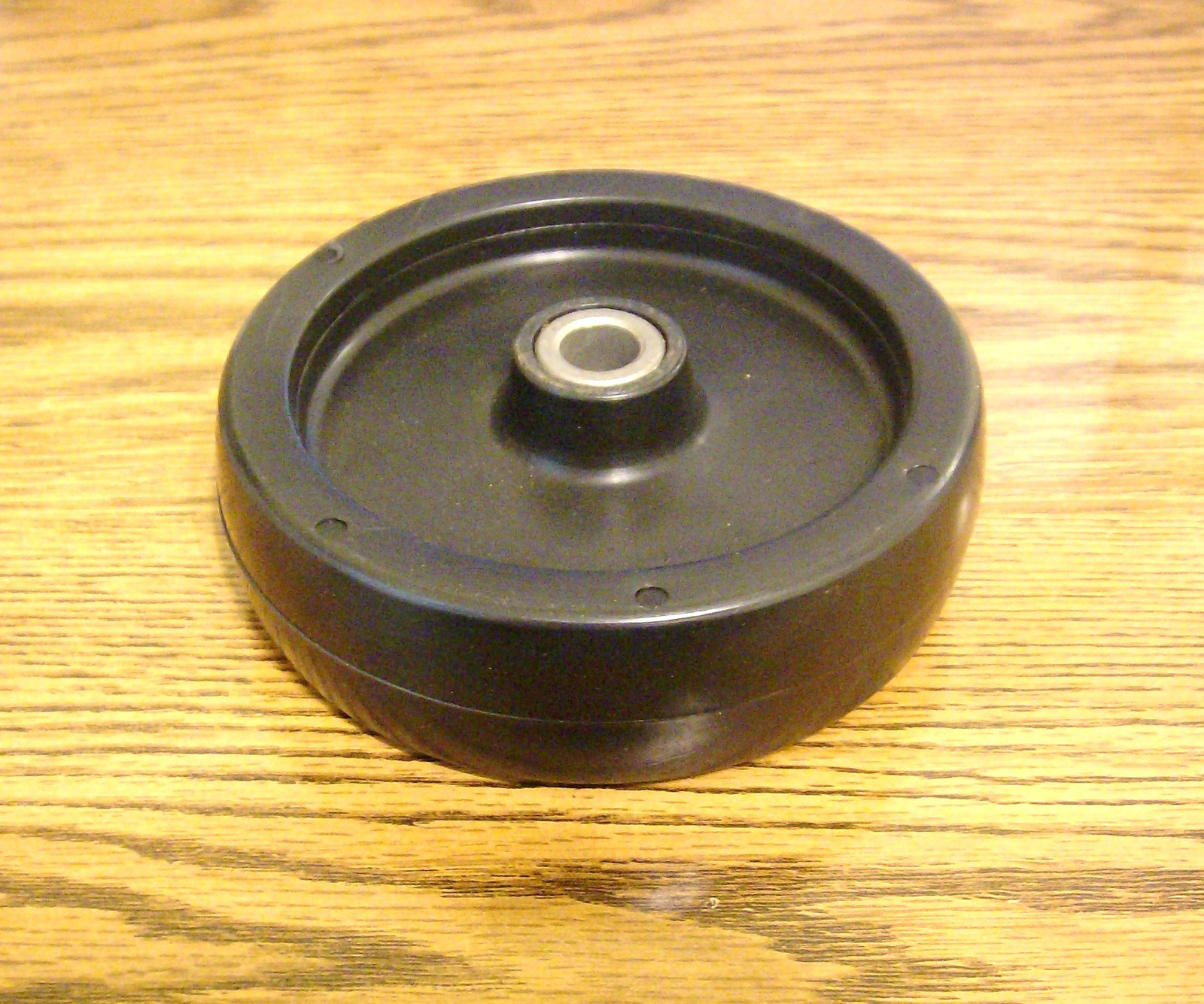 Lesco deck roller wheel tire 050313