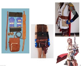 Brand new Final Fantasy XIII Lightning Cosplay Costume SIZE L Thanksgiving - $61.69