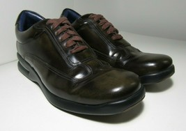 Cole Haan Air Conner Shiny Brown Casual Lace Up Shoes Mens Size 9  - $55.74