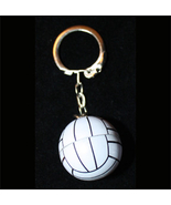 VOLLEYBALL KEYCHAIN-3d Team Fun Coach Gift Funky Novelty Jewelry - $2.97