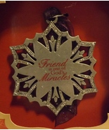 Gloria Duchin Pewter Ornament  Friend - $14.99