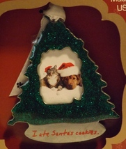 Gloria Duchin Pewter Photo Ornament I Ate Santa's Cookies - $14.99