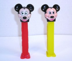Mickey Mouse C Pez faceplate European 1989 release discontinued - $6.00