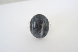 Vintage Sterling Silver Cabochon Ladies Ring Size 7 - $38.00