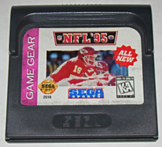 SEGA GAME GEAR - SEGA SPORTS - NFL '95 (Game Only) - $5.00