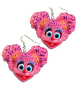 ABBY CADABBY EARRINGS-Sesame Street Costume Cha... - $6.97