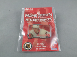 Home Grown Heros Hockey Pin - Jason Spezza (Ottawa Senators) - Rare !! - $12.00