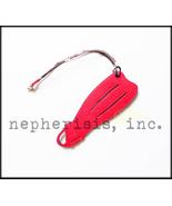 AUTH NWB Hermes Petit H Leather Ornament or Bag Charm DIVER FLIPPER PM R... - $450.00