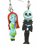 Jack 20skellington sally 20earrings new thumbtall