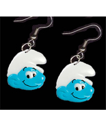 SMURF EARRINGS-Funky Novelty Cartoon Character ... - $6.97