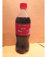 Hard to find name JON personalized 20 ounce Coca Cola Share a Coke Bottle - $6.99