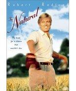The Natural [DVD] (2001) Robert Redford; Robert Duvall; Glenn Close; Kim... - $10.84