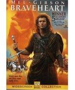 Braveheart [DVD] (2000) Mel Gibson; Sophie Marceau; Patrick McGoohan; An... - $9.85