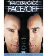Face/Off [DVD] (1998) John Travolta; Nicolas Cage; Joan Allen; Alessandr... - $8.86