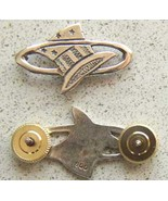 WWI 94th Aero Squadron Hat in the Ring Sterling Pin    c - $35.00