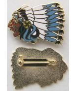 WWI 103rd Aero Squadron / SPA 124 Indian Cloisonné enamel Pin    - $20.00