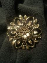 "Vintage Sarah Coventry ""Peta-lure"" 1962 Brooch Pin - $8.00"