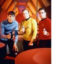 Star Trek VMMR William Shatner Leonard Nimoy 8X10 Color TV Memorabilia P... - $6.99