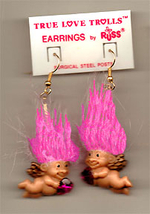 Cupid 20troll 20doll 20earrings pink thumb200